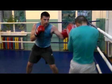Бокс тренировка boxing training,sparring(timur) global box-promotion