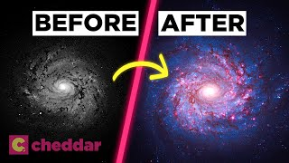 Why All Images of Space Are Photoshopped - Cheddar Explores