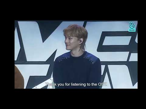 EXO CHEN SING OST 100 DAYS MY PRINCE AT EXO COMBACK SHOWCASE 'TEMPO'