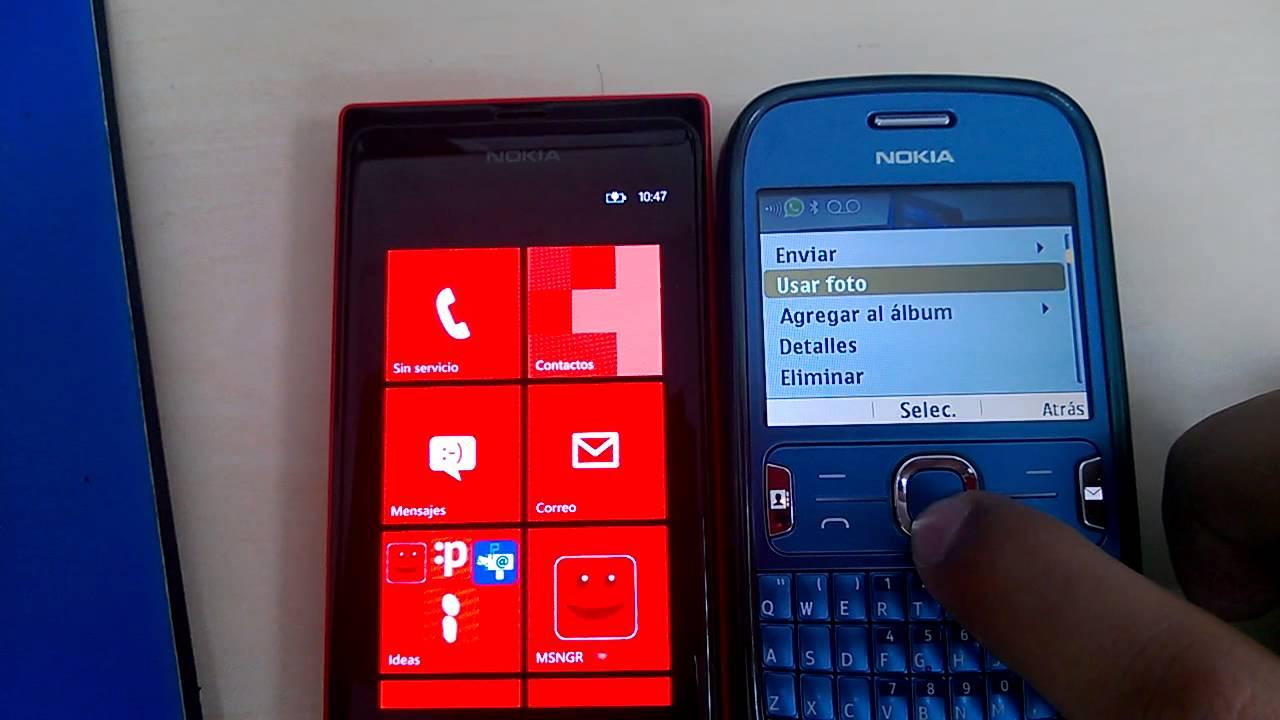 Nokia Lumia 505 - Recibir Archivos por Bluetooth