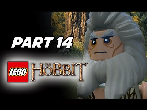 LEGO: The Hobbit Walkthrough Part 14 - Mirkwood (PS4 1080p Gameplay...
