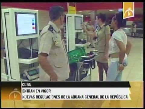 Cuba: Entran en vigor Nuevas Regulaciones de la Aduana General de la República