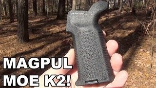 Magpul MOE K2! A New Angle on the Steep Angled Grip