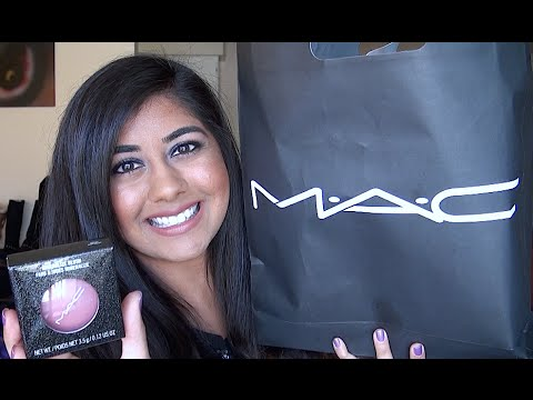 M.A.C. Holiday 2014 Heirloom Mix Collection Haul & Review!