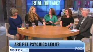 Pet Psychic on Anderson Cooper Live