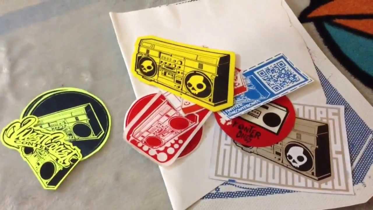 En qu materiales puedo imprimir para hacer stickers y for Donde venden stickers para pared