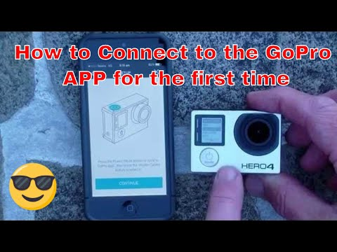 GoPro HERO4 - How to Connect to the GoPro APP for the First Time.