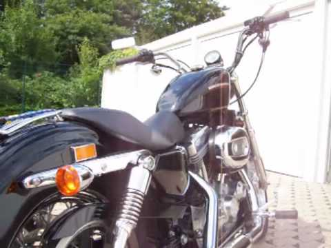 Harley Davidson Sportster 883 low ,, AMC-pipes,, Video