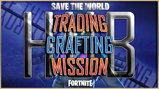 FORTNITE GAME HUB LIVE STREAM - SAVE THE WORLD (24/7) COMMUNITY - GRAVE DIGGER CRAFTING - HORDE BASH