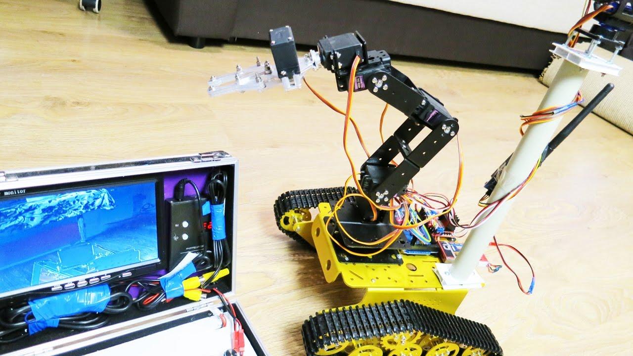 Управления роботом своими руками