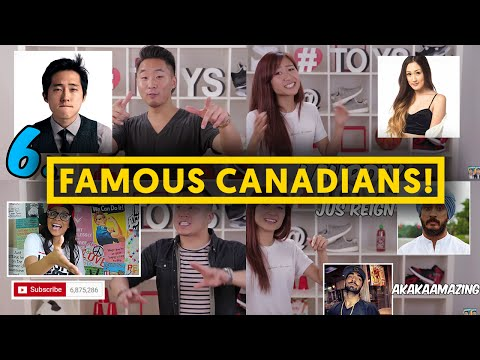 11 FAMOUS ASIAN CANADIANS ft. Leenda D