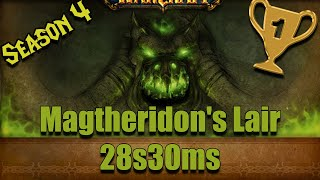 [World of Warcraft] (Saison 4) Magtheridon's Lair Speedrun in 28s30ms