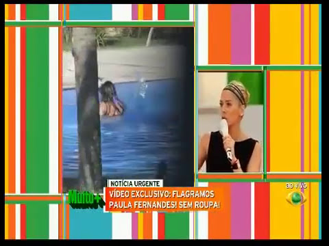 Paula Fernandes de Biquini em Hotel Exclusivo - Programa Muito +