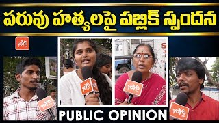 Public Response on Pranay Amrutha and Madhavi Sandeep Incident | Maruthi Rao