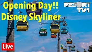 🔴Live: Disney Skyliner Opening Day 2019 1080p - Walt Disney World Live Stream 9-29-19