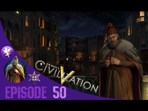 Civilization 5 Brave New World Gameplay: Venice Playthrough Episode 50: Splitting up Poland