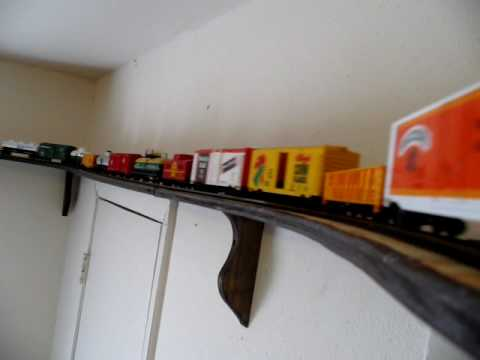 Ceiling Train Ho Scale Hd Youtube