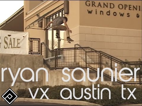 Ryan Saunier | VX FOOTY AUSTIN TX | DC SHOES | ALIEN WORKSHOP | ONE LOVE SKATESHOP