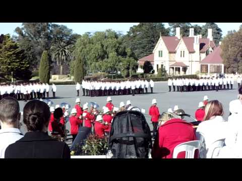 The Queen's Birthday Parade march at RMC Duntroon, Canberra. Sorry that the camera was shaking at times, the weather was cold D: Recorded - Saturday 12th Jun...