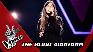 Zita - 'The End of The World' | Blind Auditions | The Voice Kids | VTM