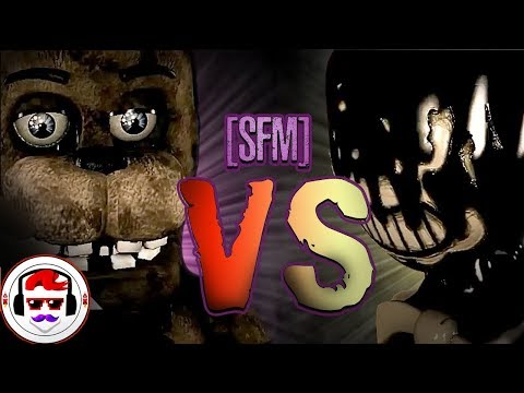 [SFM] Five Nights At Freddy's VS Bendy And The Ink Machine - Rockit Gaming Rap | Freddy Vs Bendy