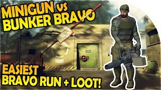 MINIGUN vs BUNKER BRAVO - BUNKER BRAVO LOOT + EASIEST WAY! - Last Day on Earth Survival Gameplay