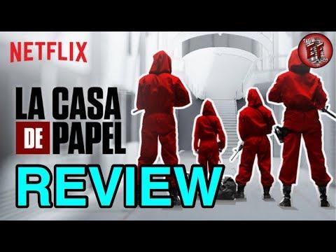 La Casa De Papel Spoiler Review Youtube