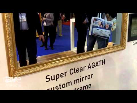 ISE 2016: AGATH Offers 4K Super Clear Custom Mirror TV