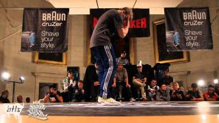Bboy Niek (Just Do It) vs. Bboy Taower | BOTY 1vs1 2011 | Semi Final
