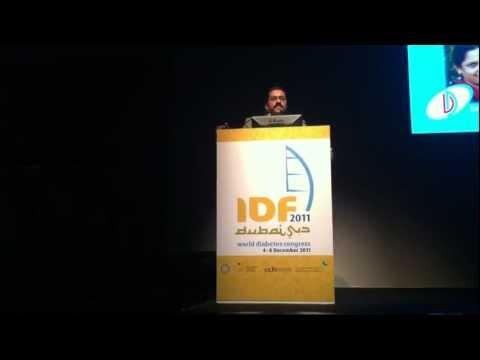 Telemedicine at Jothydev's: World Diabetes Congress, Dubai Dec 5, 2011