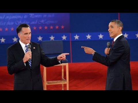 Raw Video: Second Obama - Romney presidential debate
