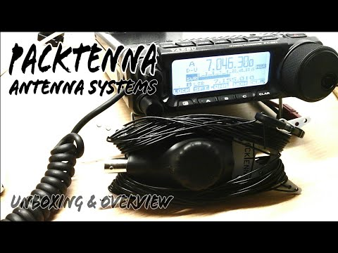 PackTenna Portable Ham Radio Antennas Unboxing