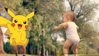 Anak Bayi - Baby Dance Goyang Pokemon Pikachu Lucu