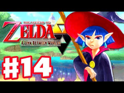 The Legend of Zelda: A Link Between Worlds - Gameplay Walkthrough Part 14 - Desert Palace (3DS)