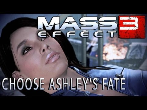 Mass Effect 3 Choose Ashley's fate - Interactive