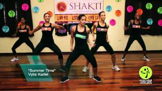Summer Time Vybz Kartel Zumba Routine