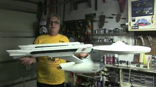 DE BOERS STAR TREK ENTERPRISE REFIT PROJECT UPDATE #69