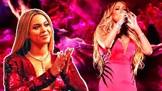 This Is What Happens When Mariah Carey Sings In Front Of Beyoncé