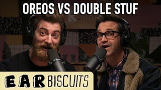 Oreos vs Double Stuf | Ear Biscuits