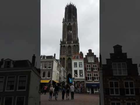Domtoren in Utrecht plays What I've Done + Numb by Linkin Park to honour Chester
