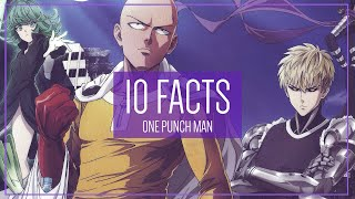One Punch Man: 10 Facts You Didn't Know