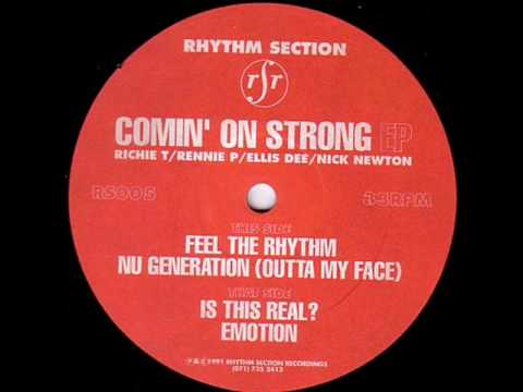 Rhythm Section   Emotion (1991) video