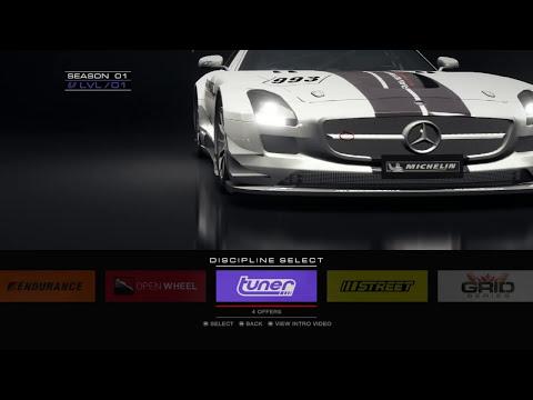 Grid Autosport! Primeiros minutos intensos no Logitech G27