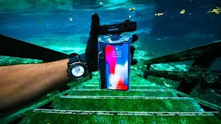 Found Working iPhone X Underwater!!! (River Treasure) | Jiggin' With Jordan