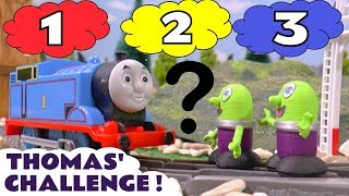 Learn Colors and Learn Numbers with Thomas & Friends Toy Trains and the funny Funlings TT4U