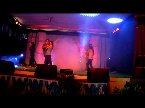 sagar and group dance performance at mvit fest
