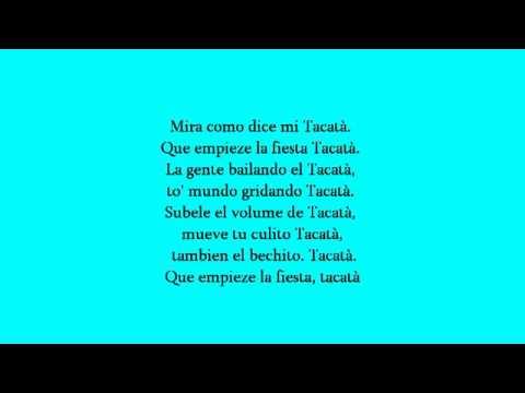 Tacabro - Tacata + Lyrics