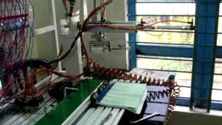 Robot gắp sản phẩm điều khiển bằng PLC