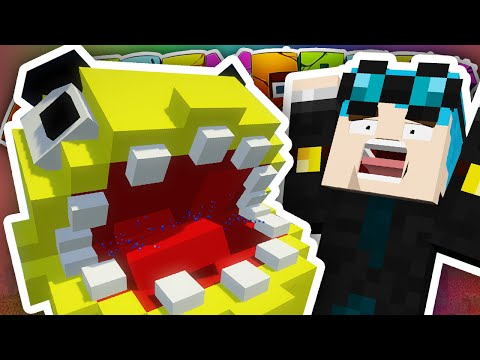 Minecraft | NEW HOUSE PACMAN ATTACK!! | Crazy Craft 3.0 #5