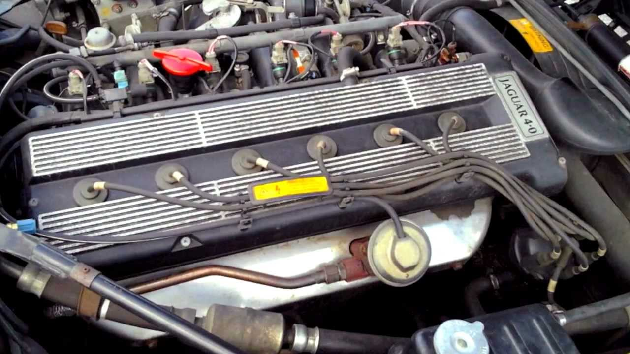 1993 Jaguar Xjs 4 0l Start Up  Quick Tour   U0026 Rev - 70k